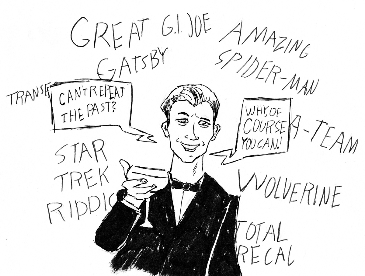 Sketched Screenings: The Great Gatsby