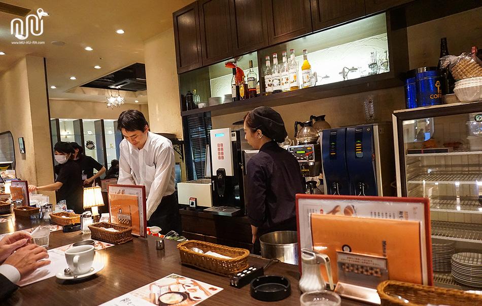 CAFE' ARCO stazione ร้านอาหารในสถานี Kanazawa