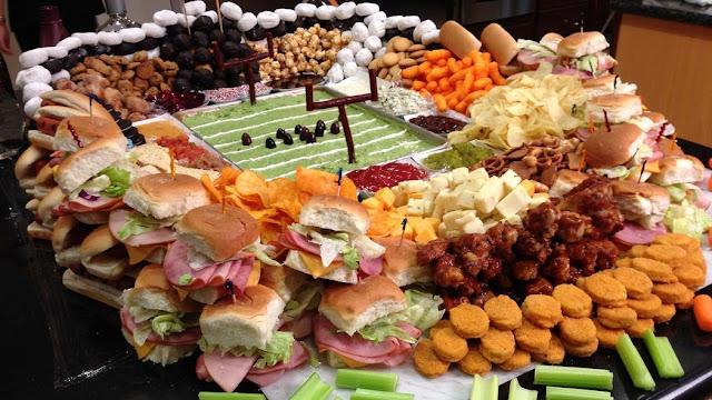 Bouffe Super bowl football