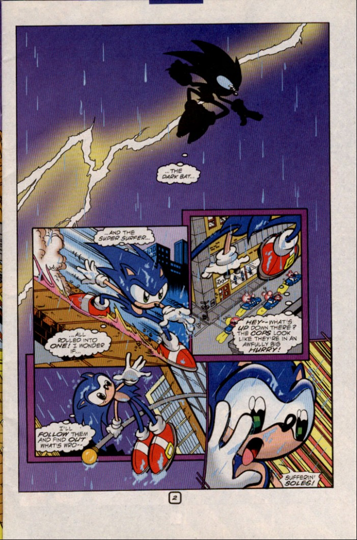 Read online Sonic The Hedgehog comic -  Issue #82 - 4