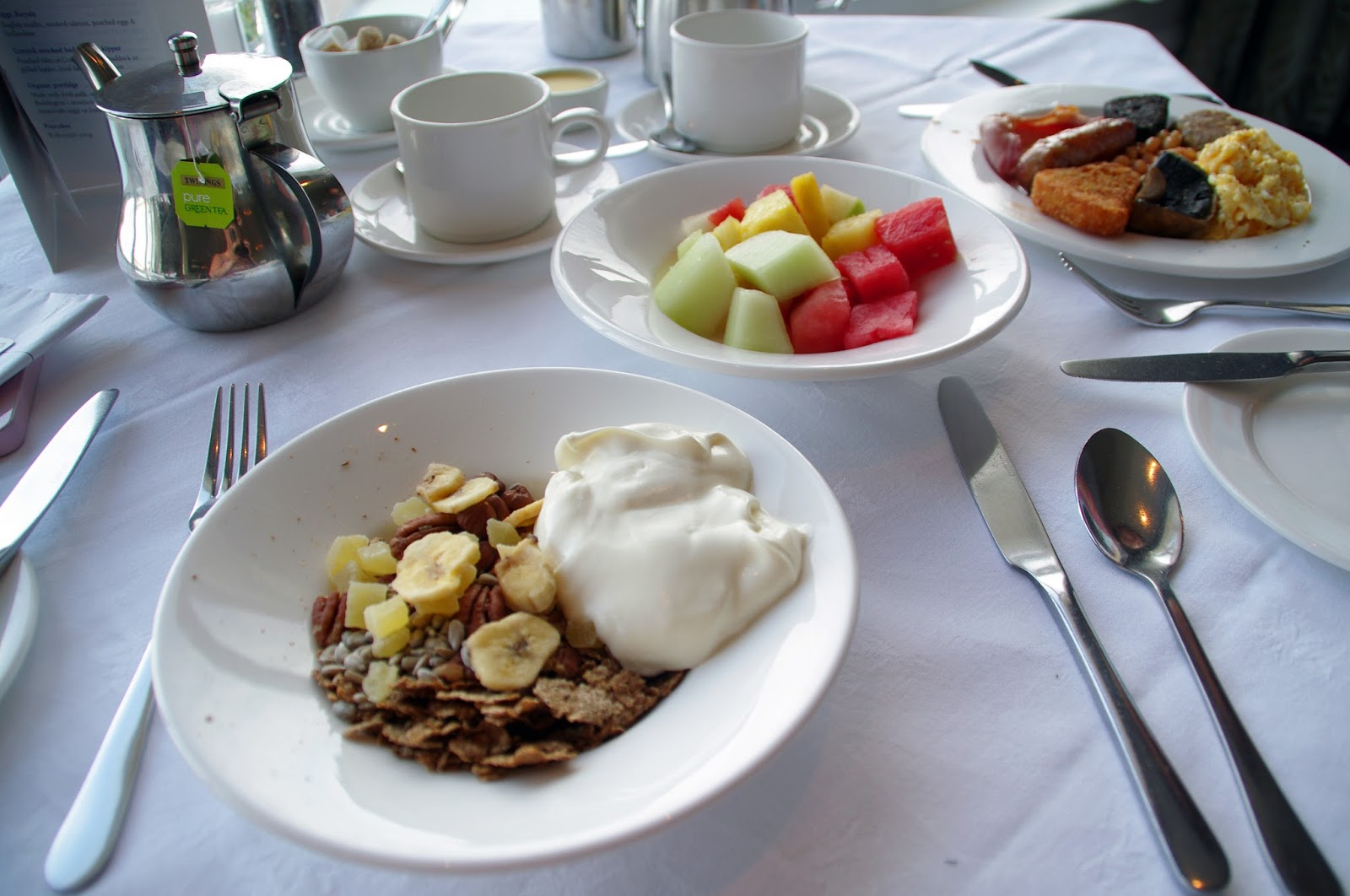 Headland Hotel Newquay Cornwall Restaurant Breakfast