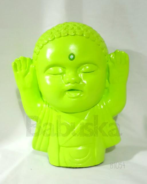 Buda pintado y laqueado a mano (B1054) Babuska