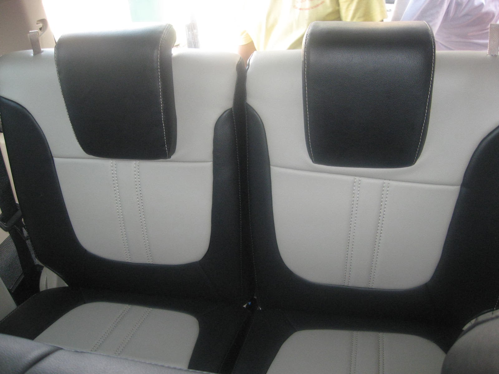 Montero Sport 2013 Leather Seat Covers With Full Interior Protection