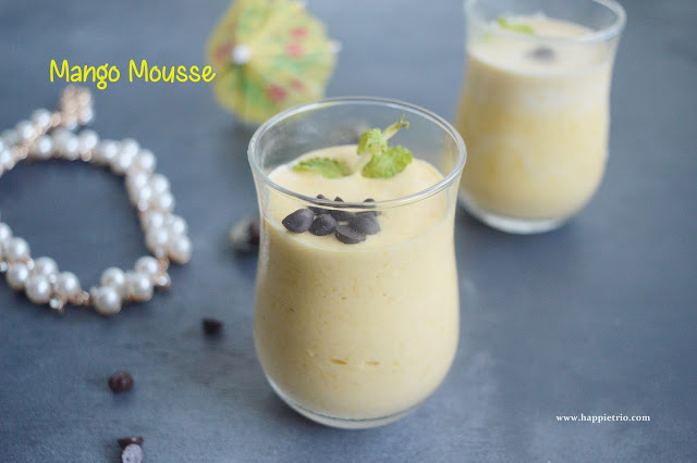 Mango Mousse Recipe | Summer Dessert
