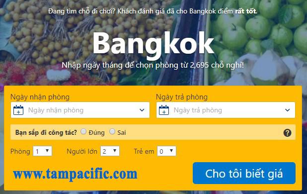 Check Hotel Bangkok ThaiLand