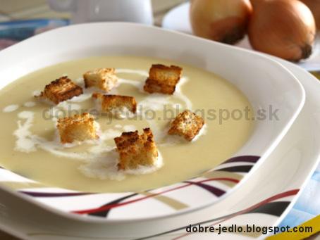 Cibuľová polievka - recepty