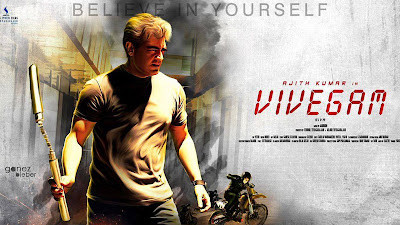 Vivegam Movie Poster Image