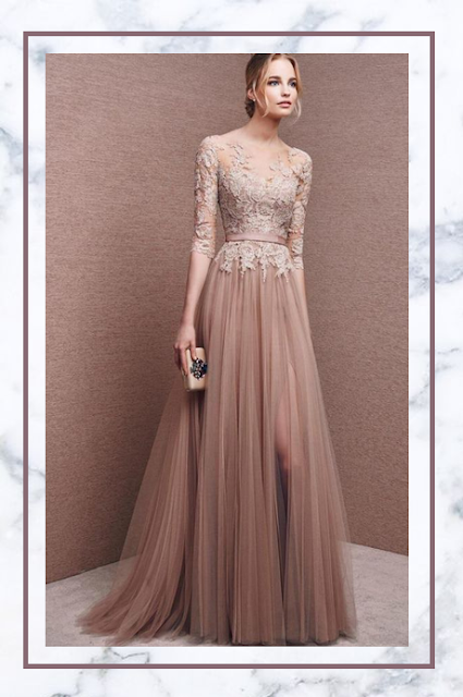 https://www.muee.com/34-sleeves-aline-illusion-neck-tulle-formal-evening-dress-p-898.html