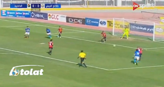 اهداف مباراة الداخلية وطلائع الجيش 1-1 الاربعاء 05-04-2017 الدوري المصري