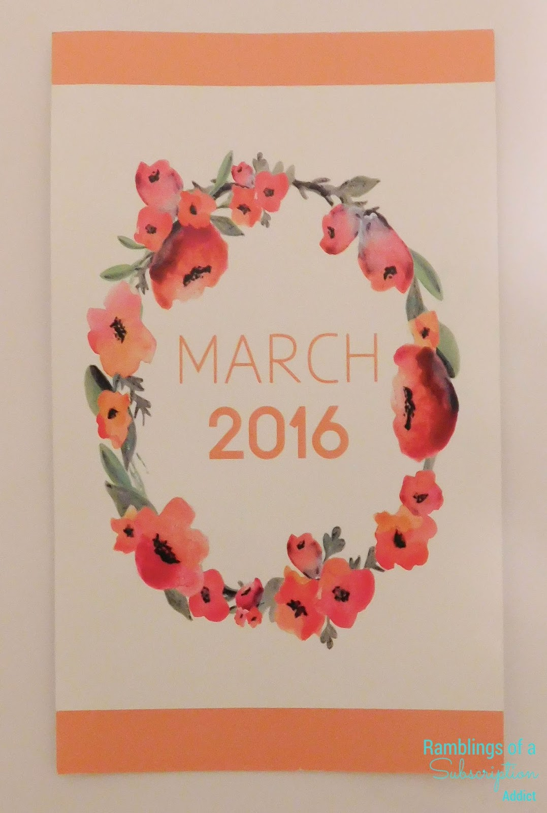 Lip Monthly - March 2016 + Coupon Code!
