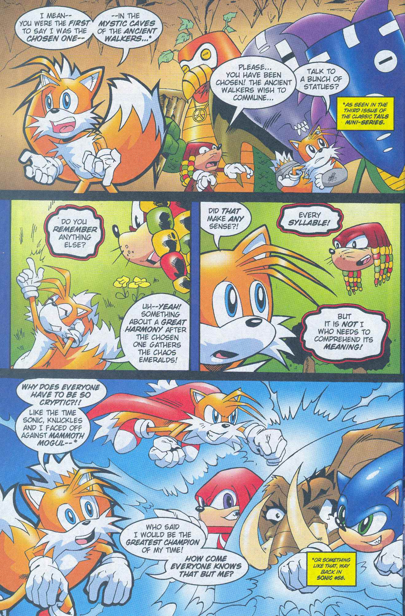 Read online Sonic The Hedgehog comic -  Issue #148 - 22