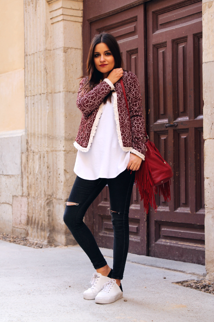 chaqueta primark outfit primavera blog de moda león