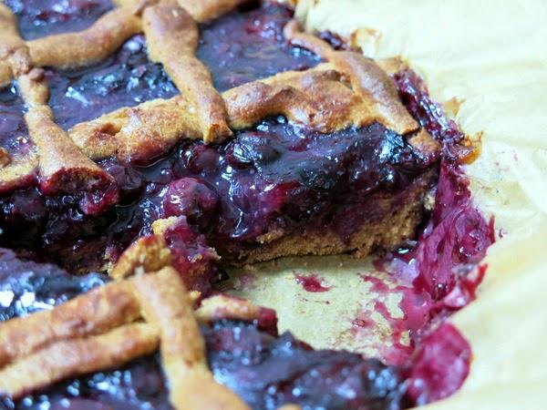 Spelt Blueberry Tarte