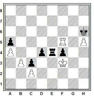 Posición de la partida Muñoz - Salazar (Novi Sad, 1990)