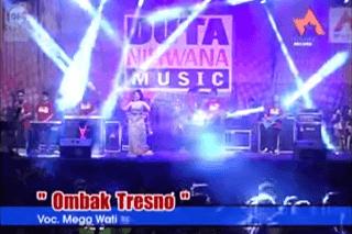 Lirik Lagu Ombak Tresno - Mega Wati