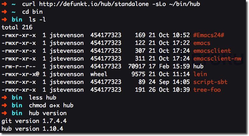 Create Github Repos on the Command Line With Hub | jr0cket