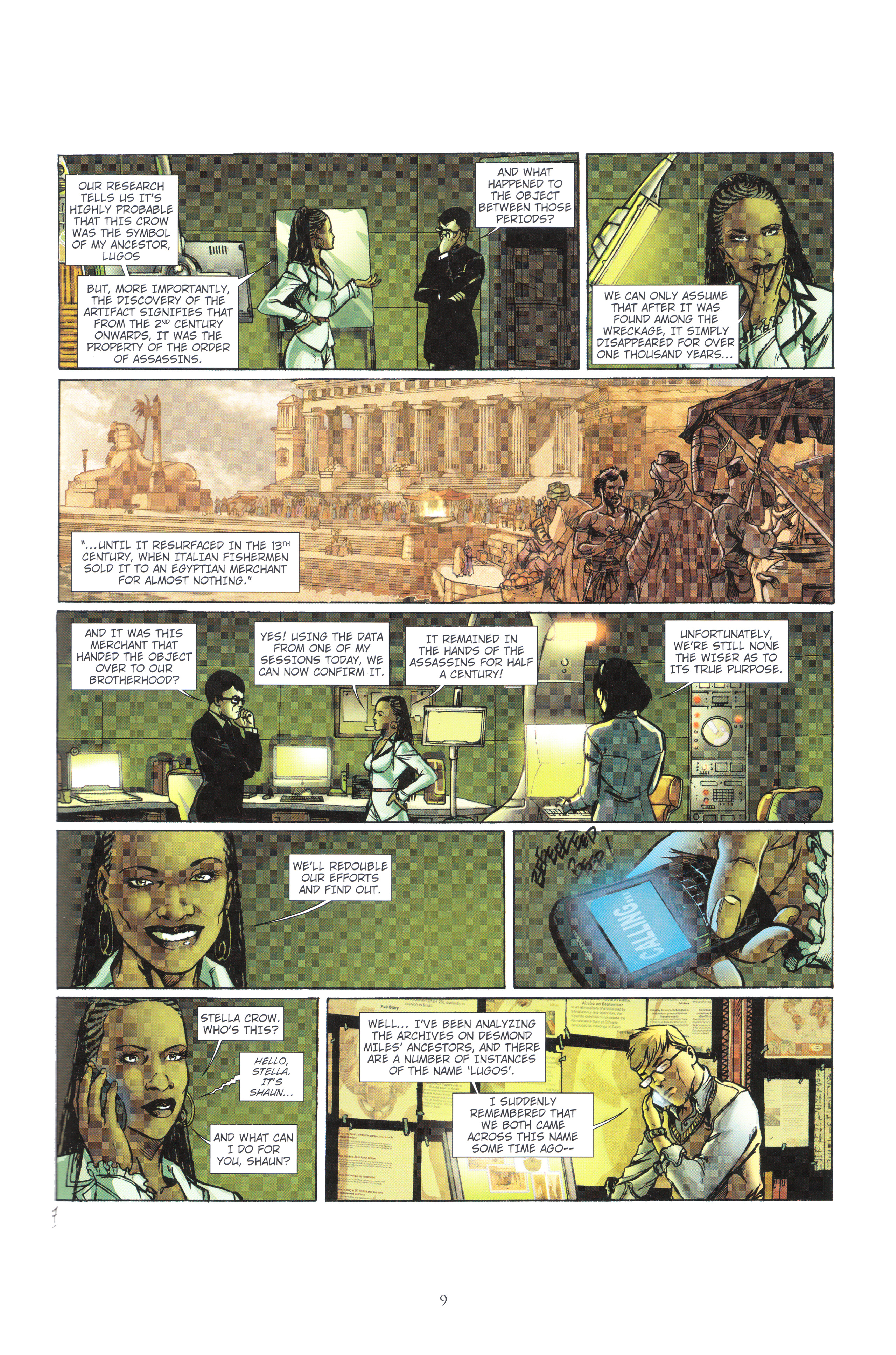 Read online Assassin's Creed (2012) comic -  Issue #4 - 9