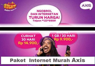 Axis Paket internet Paling Murah
