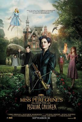 blog lifestyle lucileinwonderland lucile in wonderland favoris du moment film miss peregrine et les enfants particuliers
