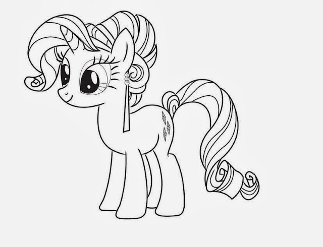 My Little Pony Coloring Drawing Free wallpaper