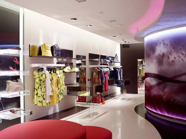 thiết kế shop thời trang nữ đẹp - mẫu số 12