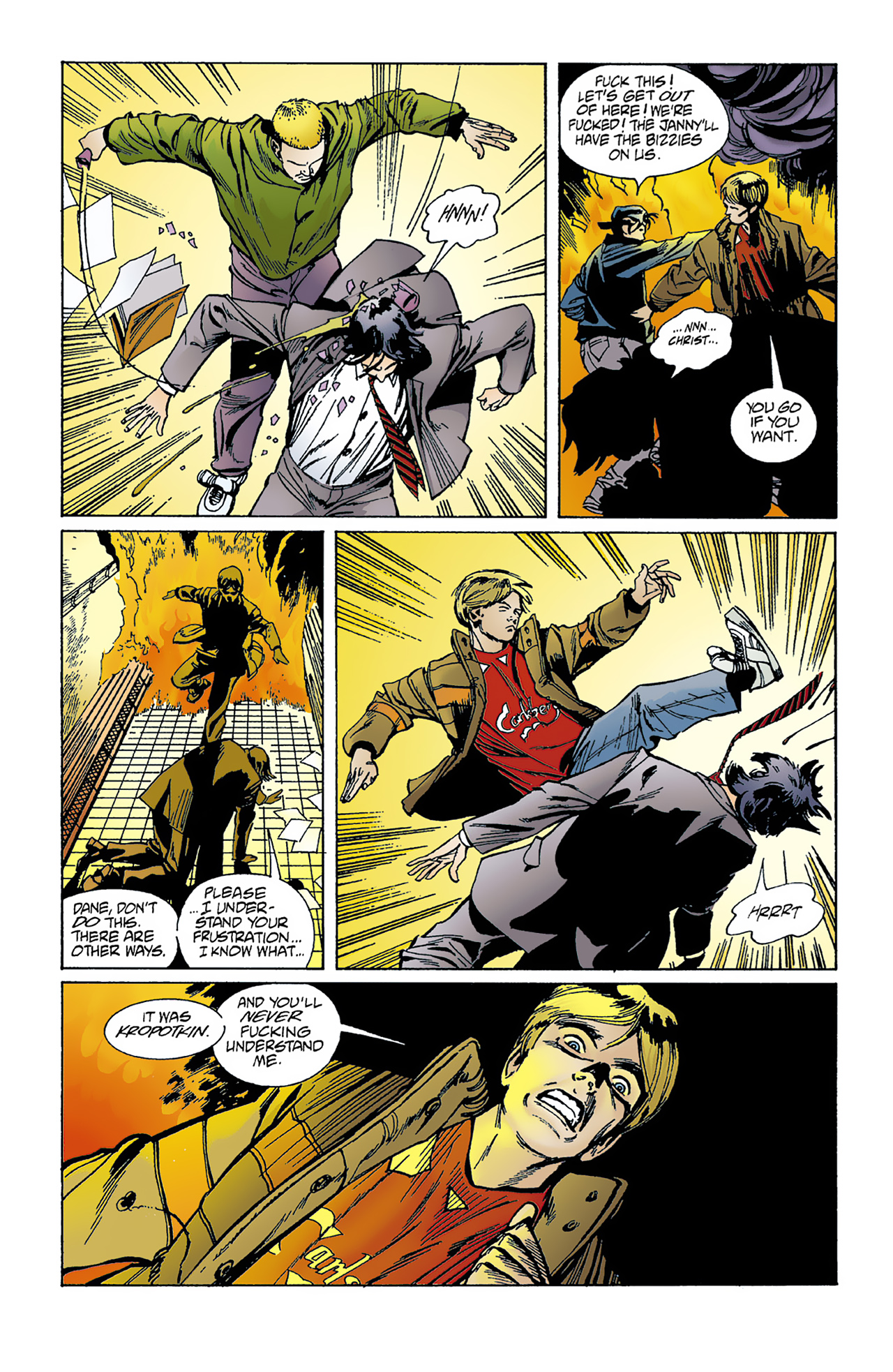 The Invisibles (1994) 1 Page 21