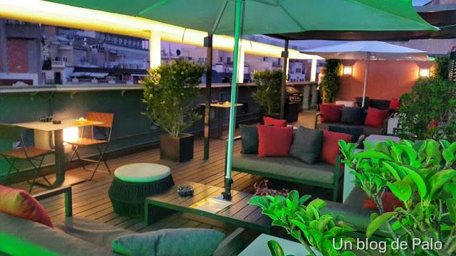 Terraza del Hotel Jazz
