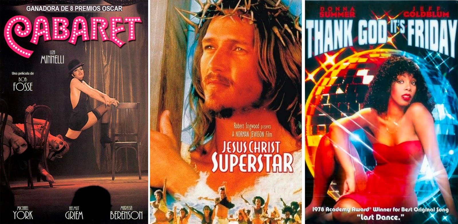 Tres estilos diferentes como muestra de la variedad que tuvo los años 70s en el género musical / WEB