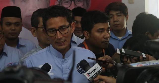 Sandiaga: Sri Mulyani akan Lebih Cemerlang di Pemerintahan Prabowo
