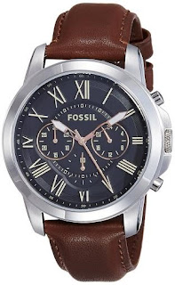 FOSSIL GRANT CHRONOGRAPH ANALOG BLACK DIAL