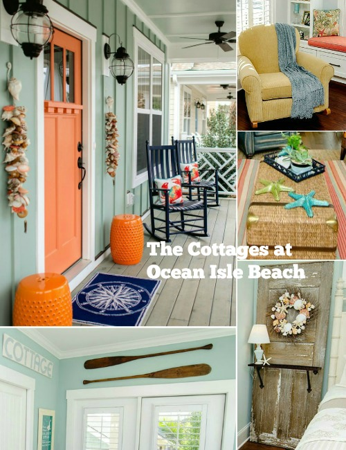 The Colorful Coastal Cottages At Ocean Isle Beach