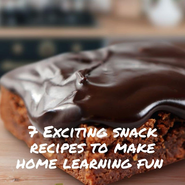 Exciting snack recipes for kids who are in a homeschooling program