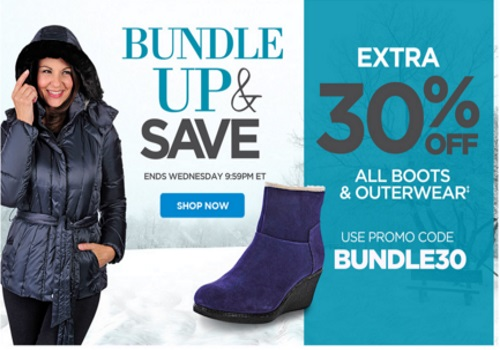 The Shopping Channel Bundle Up & Save Extra 30% off Boots & Outerwear