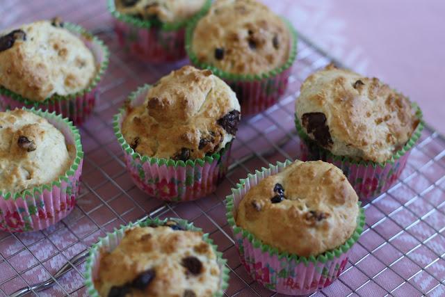MissMuffin: Sunde Muffins med tørrede bær