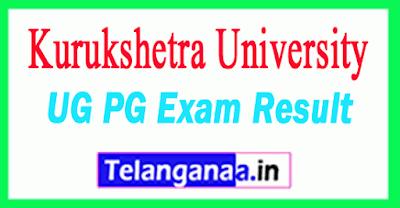 Kurukshetra University Results KUK University Result