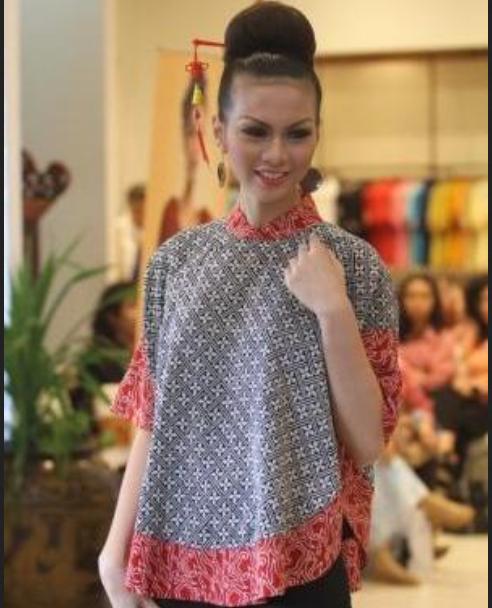 desain baju batik wanita santai elegan terbaru