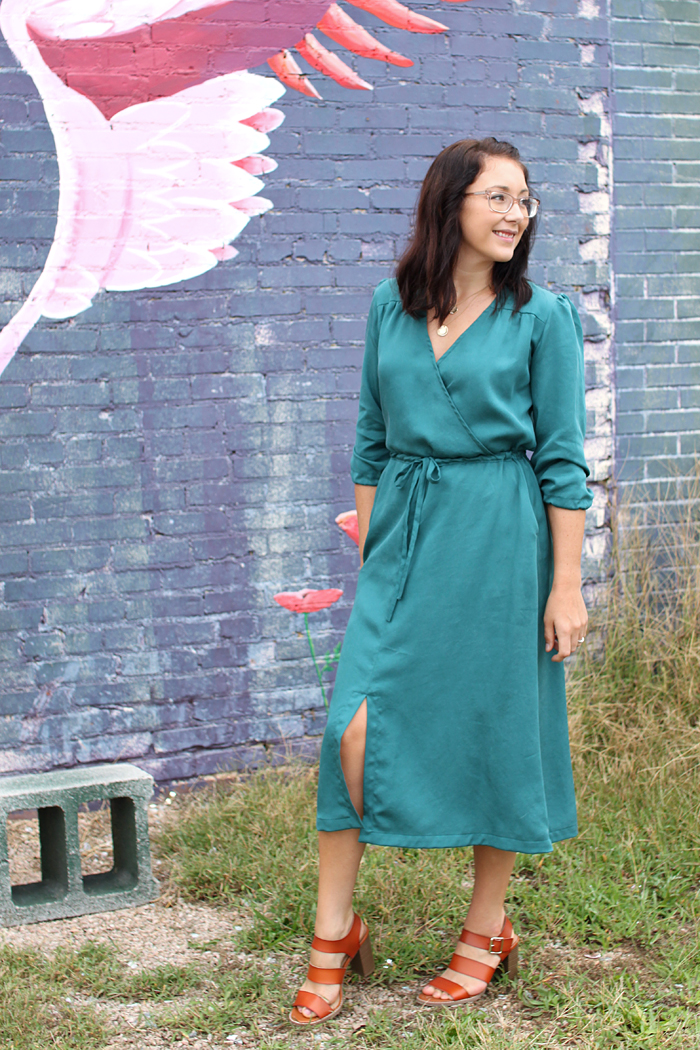 Orchid Midi Dress // Sewing For Women