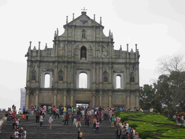 Macau Travel Guide Ruins of St. Paul's