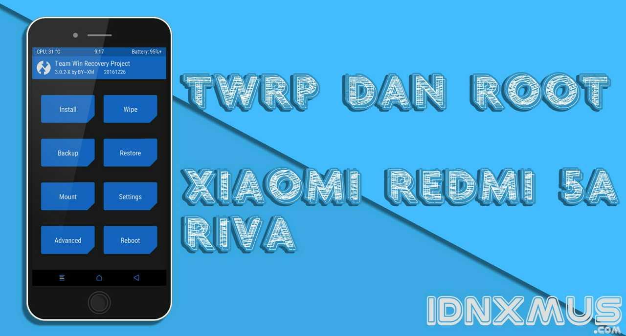 Twrp dan Root Redmi 5A