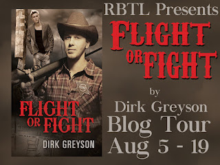 Blog Tour: Guestpost & Giveaway Dirk Greyson - Flight or Fight