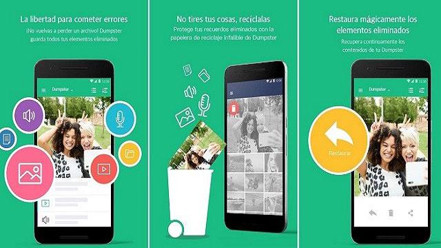 rescatar imagenes borradas en Android