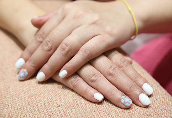 Manicure and Foot Spa at the cozy Autumn Nail Spa