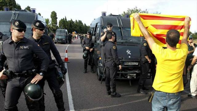 Gobierno español pone fin al refuerzo policial en Cataluña