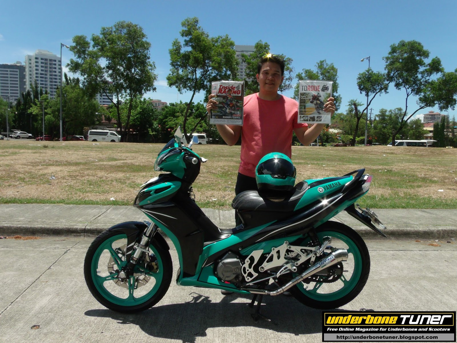 Underbone Tuner: Petronas Fomula 1 Team Inspired Modified