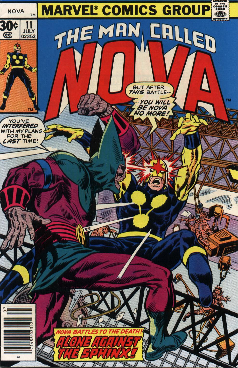 Nova (1976) 11 Page 1