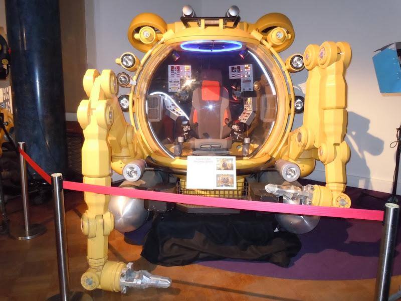 The Deep submersible TV prop