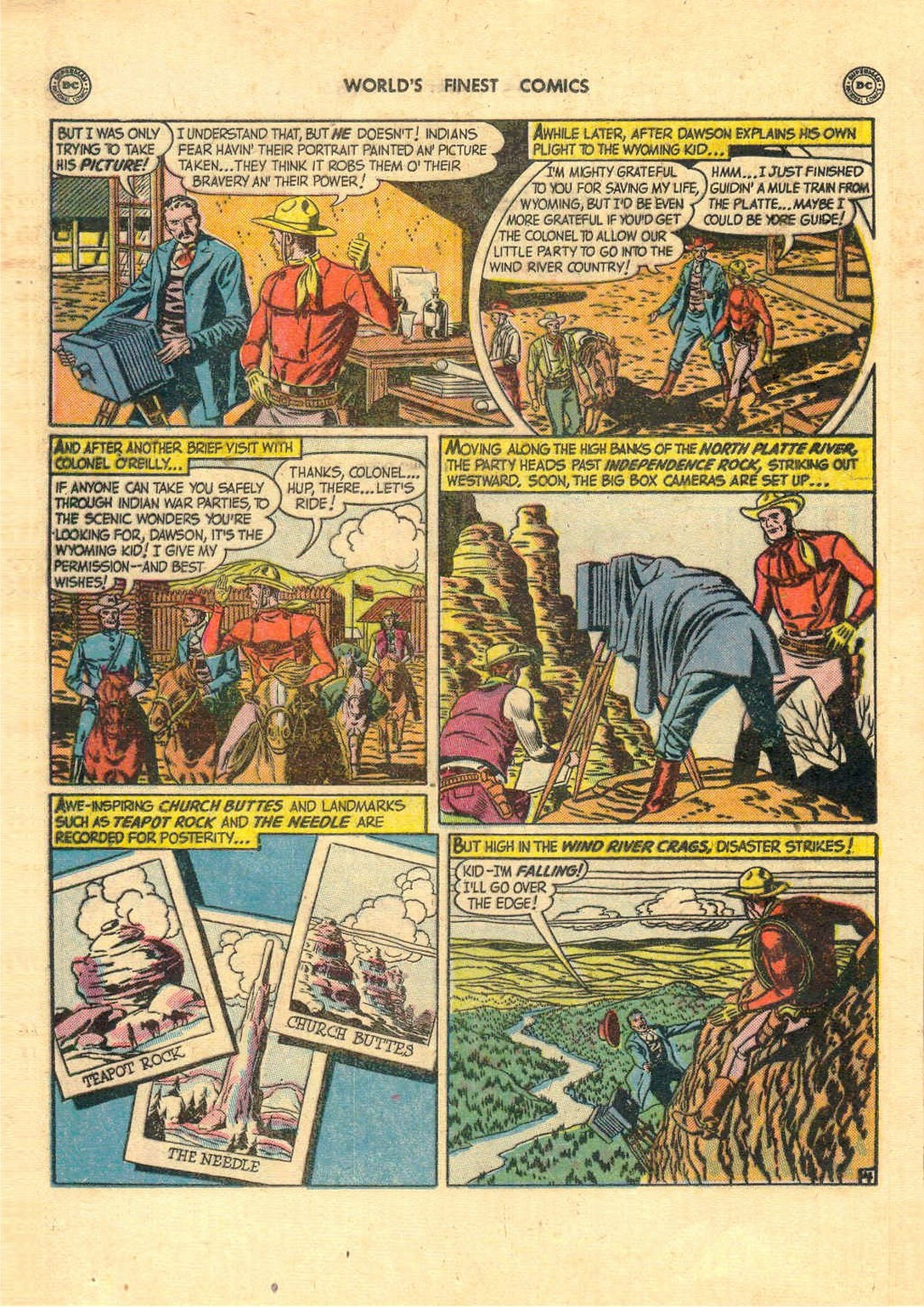 Read online World's Finest Comics comic -  Issue #52 - 18
