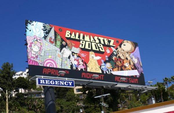 Ballmastrz 9009 series premiere billboard