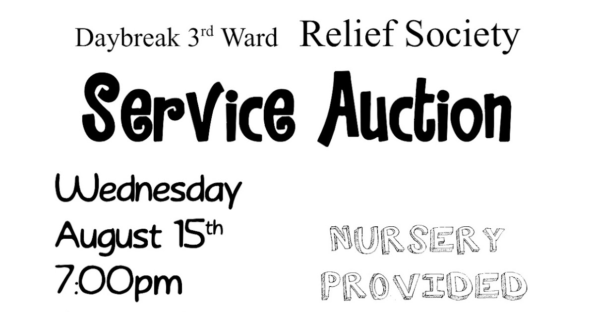 Daybreak 3rd Ward Relief Society: Relief Society Monthly