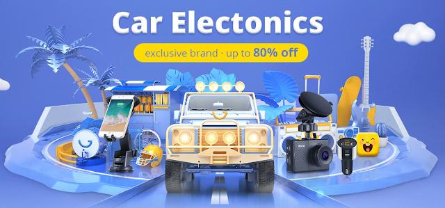 Promoção Car Electronics na Gearbest